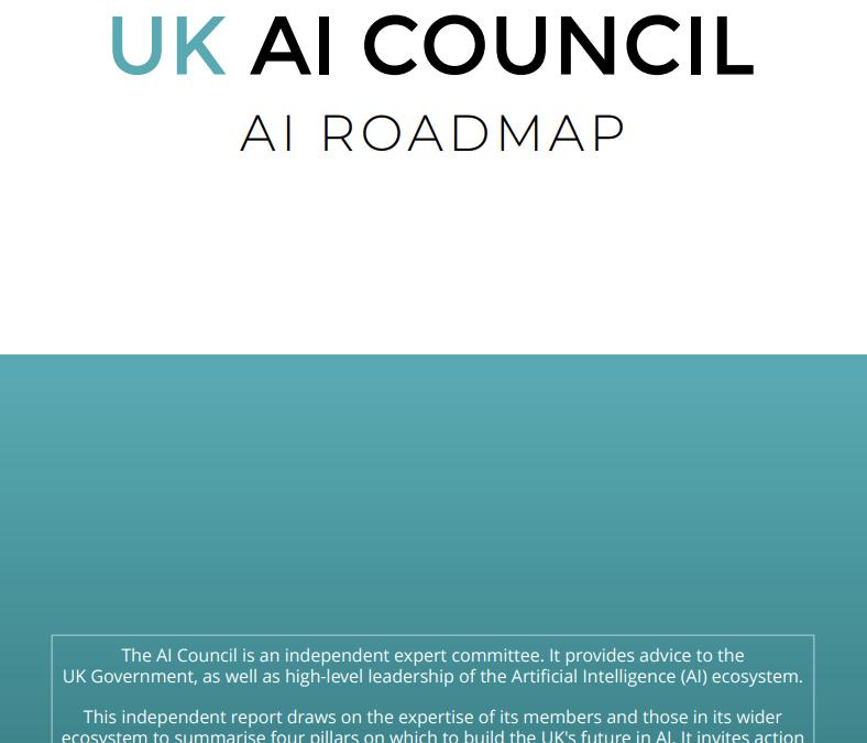 Report: AI Council – 'AI Roadmap'